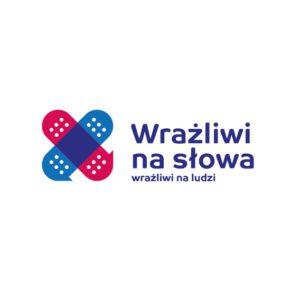 Logo Kampani Wrażliwi na słowa. Wrażliwi na ludzi.