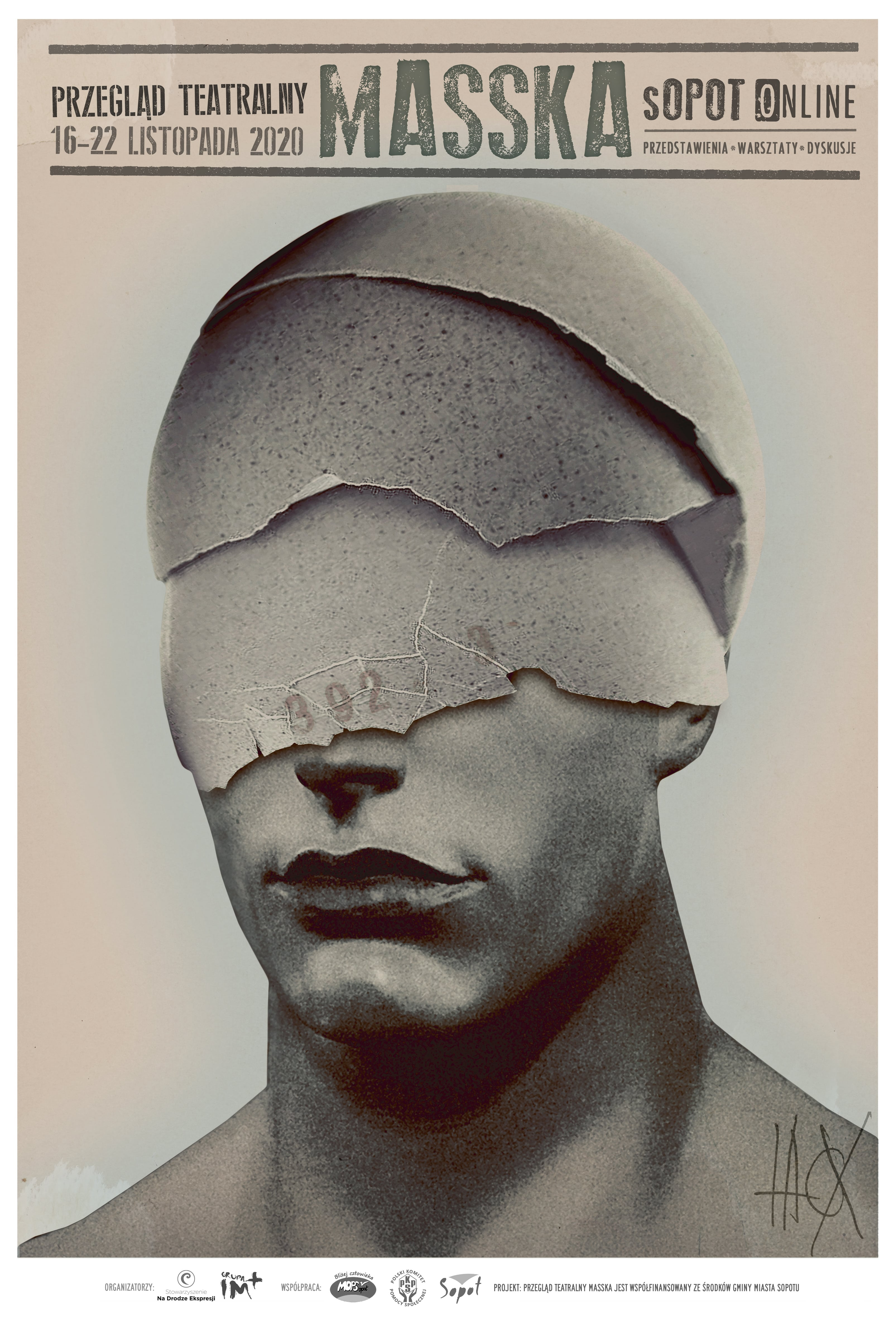 Plakat Masska